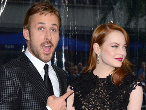 Ryan Gosling, emma stone World premiere of 'Crazy, Stupid, Love' held at the Ziegfeld Theater - Arrivals New York City