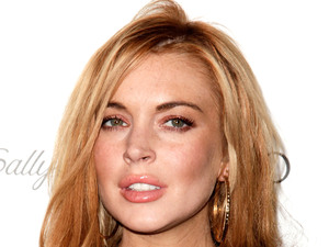 Lindsay Lohan STAR ALL HOLLYWOOD EVENT at Hotspot AV Hollywood, California