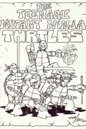 'Teenage Mutant Ninja Turtles' original art
