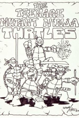 'Teenage Mutant Ninja Turtles' original art