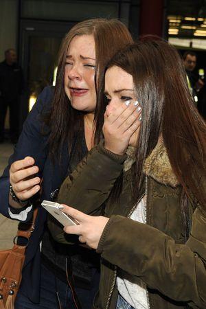 Justin Bieber arrives in London