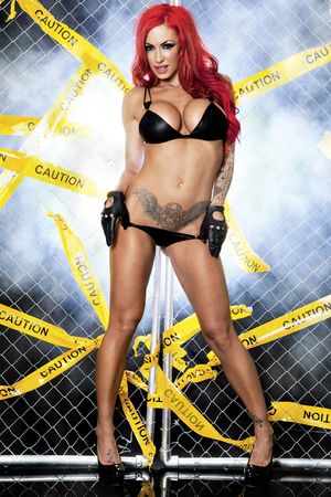 Jodie Marsh in Zoo Magazine