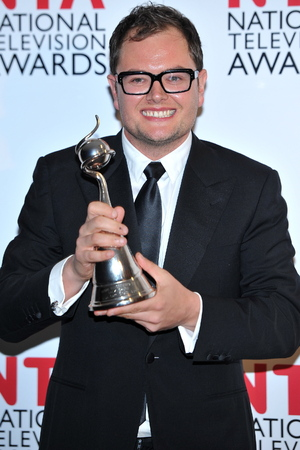 Alan Carr with National Television Award