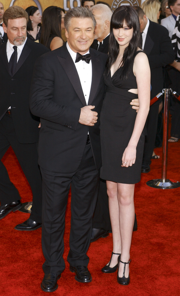 Alec Baldwin and daughter Ireland