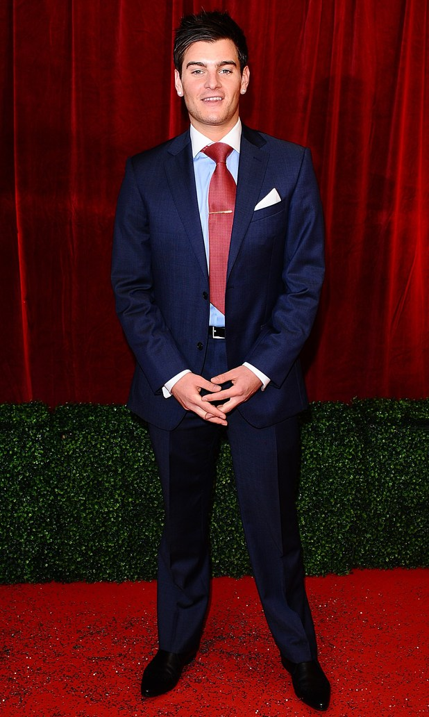 British Soap Awards 2012: Matt Lapinskas