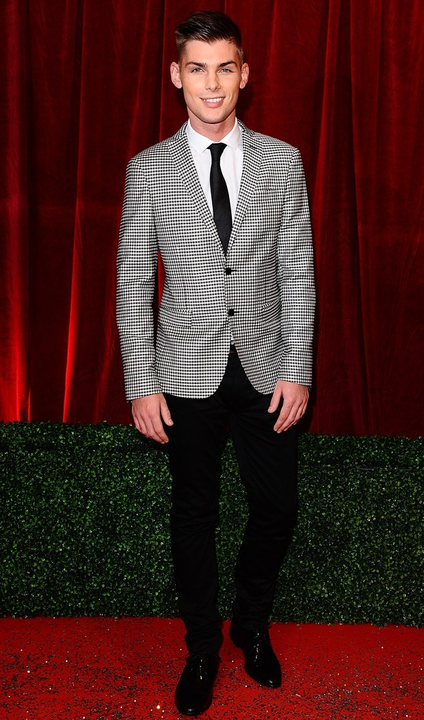British Soap Awards 2012: Kieron Richardson