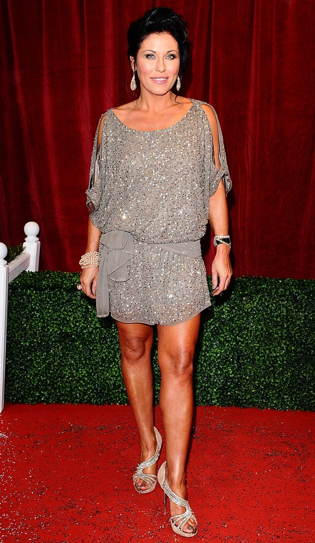 British Soap Awards 2012: Jessie Wallace