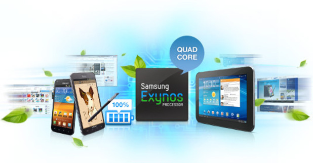 Samsung Exynos 4 Quad processor 