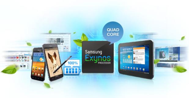 Samsung Exynos 4 Quad processor