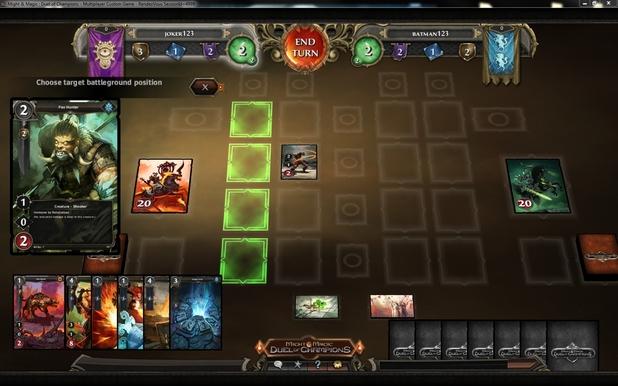 'Might & Magic: Duel of Champions' screenshot