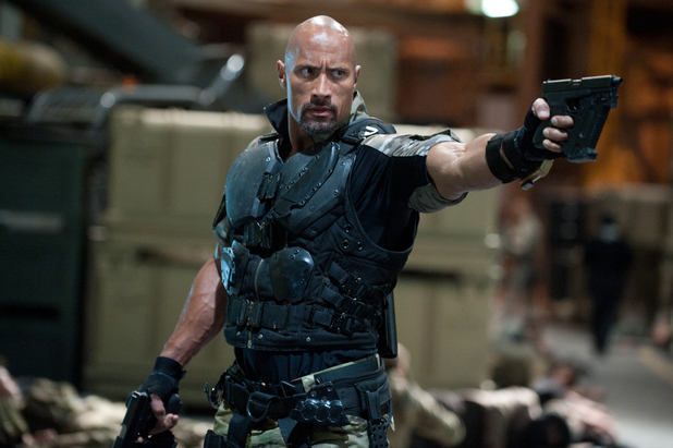 GI Joe Retaliation, Dwayne Johnson