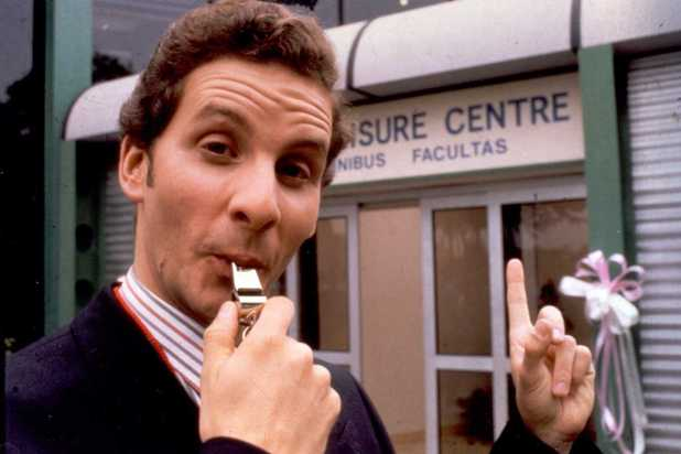 Chris Barrie as Gordon Brittas in The Brittas Empire
