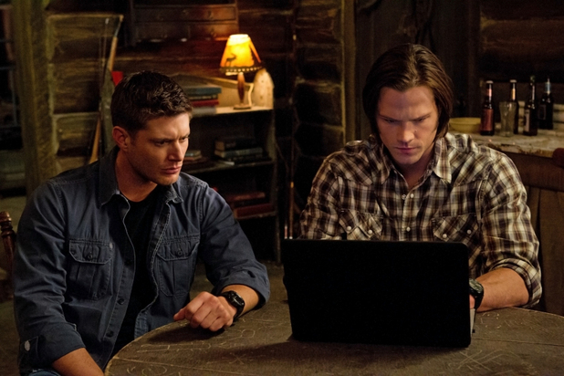 Supernatural S07E20: 'The Girl With the Dungeons and Dragons Tattoo'