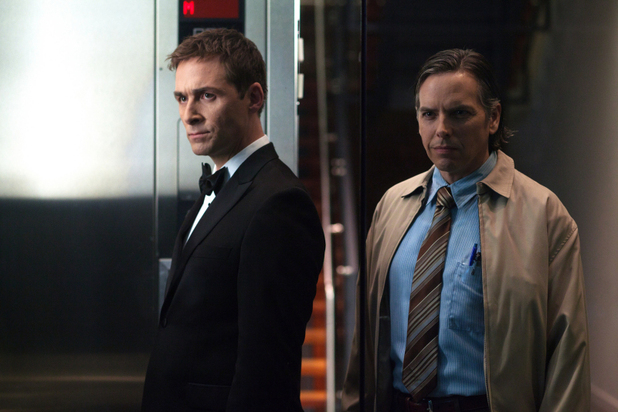 James Patrick Stuart as Dick Roman, David Stuart as Pete