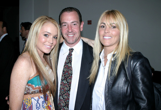 Lindsay Lohan, Michael Lohan, Dina Lohan