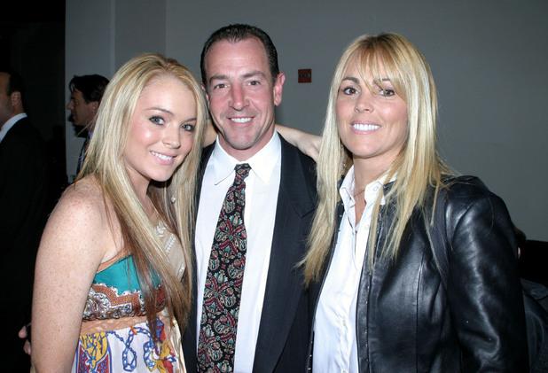 Lindsay Lohan, Michael Lohan, Dina Lohan