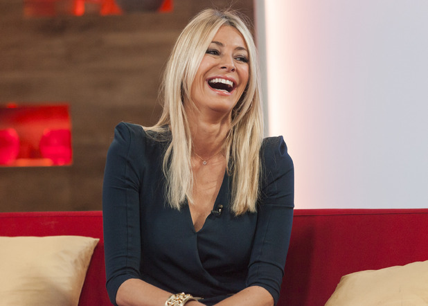 Tess Daly on Daybreak.