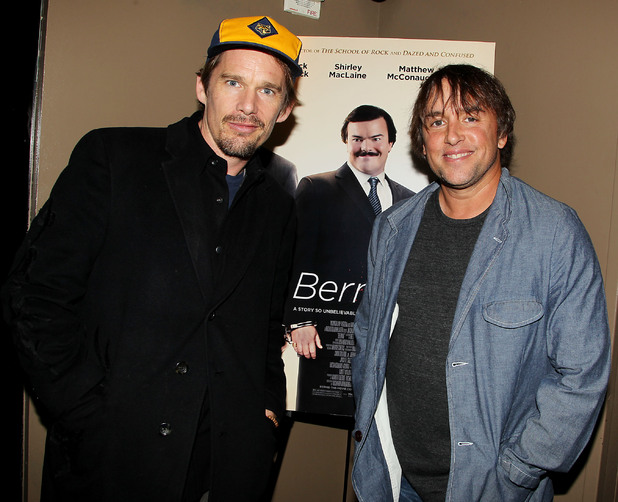 Ethan Hawke and Richard Linklater