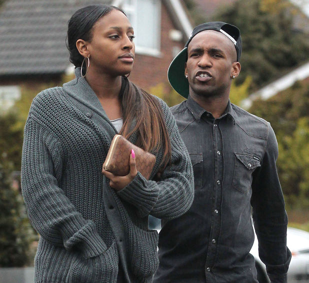 Alexandra Burke, Jermain Defoe