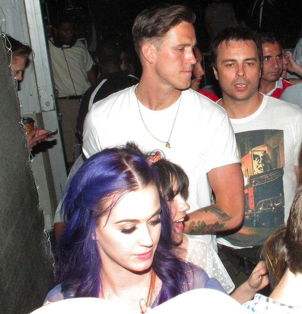 Katy Perry & Rob at Coachella 2012
