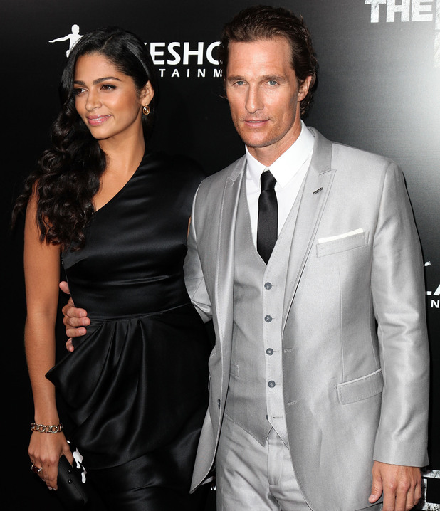 Camila Alves and Matthew McConaughey Screening Of Lionsgate & Lakeshore Entertainment's 'The Lincoln Lawyer' at ArcLight Cinemas Cinerama Dome Los Angeles