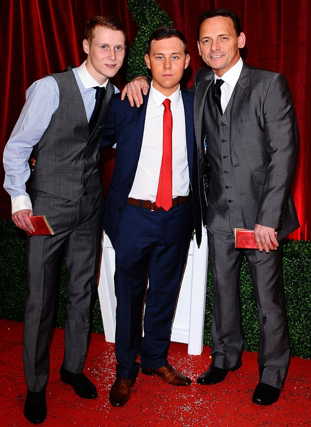 British Soap Awards 2012: Jamie Borthwick, Joshua Pascoe and Perry Fenwick