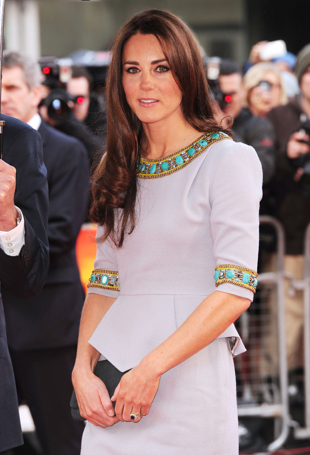 Duchess of Cambridge attends African Cats film premiere