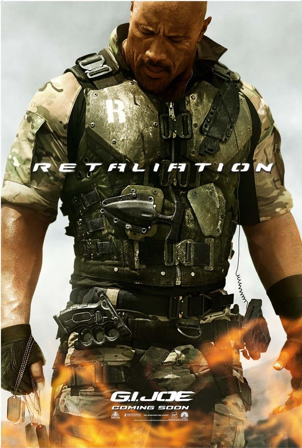 GI Joe: Retaliation character posters: Dwayne Johnson as Roadblock