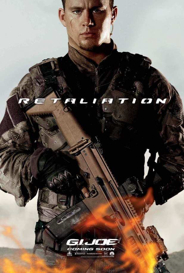 GI Joe: Retaliation character posters: Channing Tatum as Duke Hauser