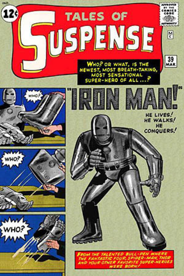 Iron Man Tales of Suspense #39