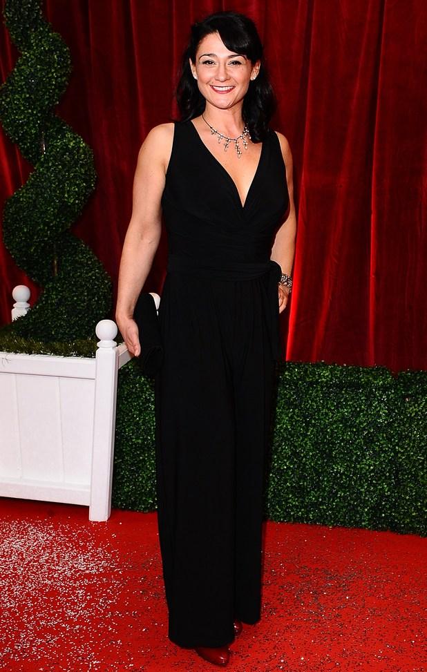 : Natalie J Robb - British Soap Awards 2012: Arrivals - Digital Spy