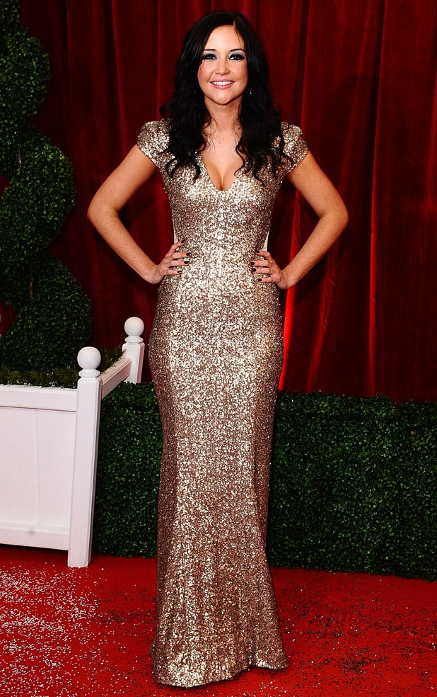 British Soap Awards 2012: Jacqueline Jossa
