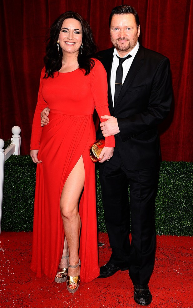 British Soap Awards 2012: Debbie Rush and Ian Puleston-Davies