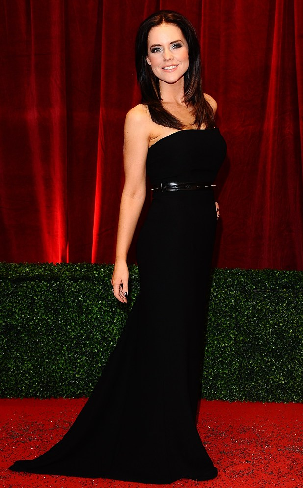 British Soap Awards 2012: Stephanie Waring
