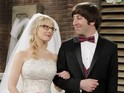 Howard (Simon Helberg) and Bernadette (Melissa Rauch) get married in first image.