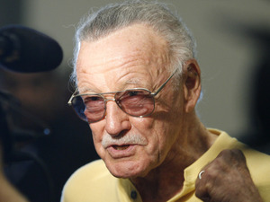 Legendary comic book creator Stan Lee 