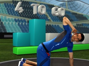 'Adidas miCoach' screenshot