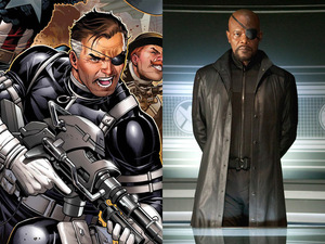 Avengers: Comic to screen - Nick Fury