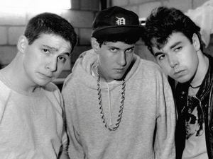 The Beastie Boys. (l-r) Adam Horowitz Mike Diamond & Adam Yauch in 1987