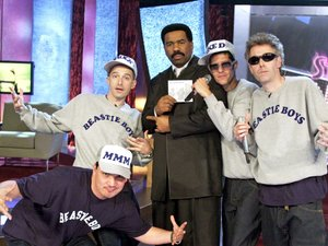 The Beastie Boys appear on 'Steve Harvey's Big Time' TV series in 2000