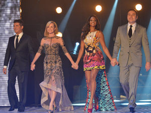 Britain's Got Talent: Simon Cowell, Amanda Holden, Alesha Dixon and David Walliams.