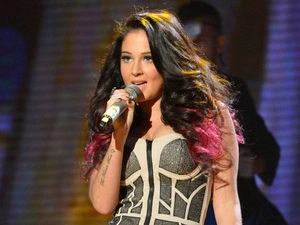 Britain's Got Talent: Tulisa performs