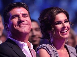 Simon Cowell and Cheryl Cole, National TV Awards 2010