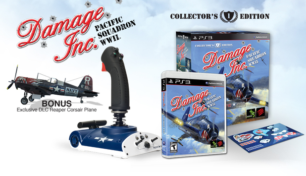 'Damage Inc. Pacific Squadron WWII' collectors edition