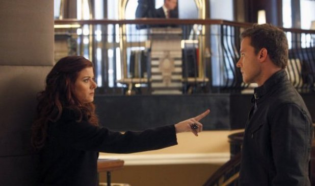 Debra Messing as Julia Houston, Will Chase as Michael Swift