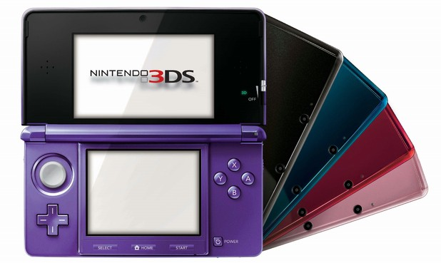 Nintendo 3DS Midnight Purple JAPAN ONLY