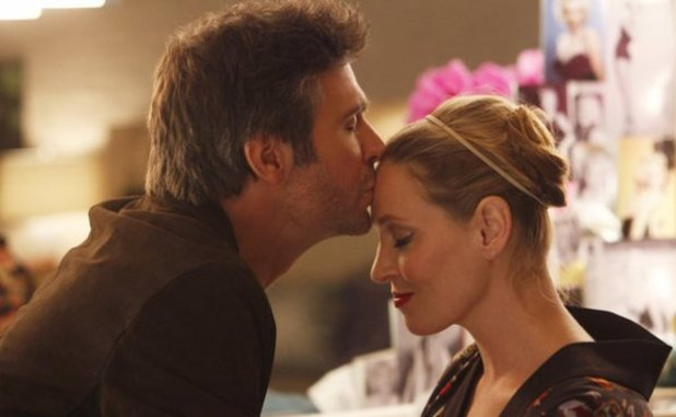 Jack Davenport as Derek Wills, Uma Thurman as Rebecca Duvall