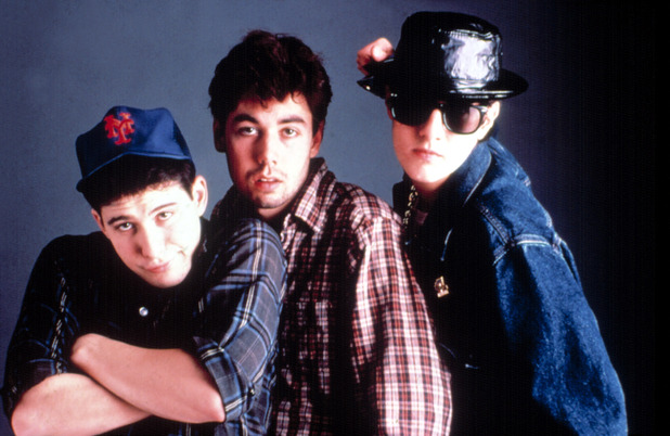 The Beastie Boys in the 1980s - Ad Rock (Adam Horovitz), Mike D (Mike Diamond), and MCA (Adam Yauch)