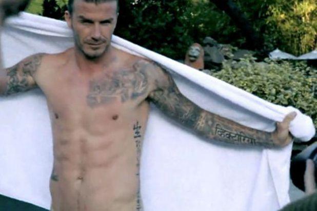 David Beckham, elle