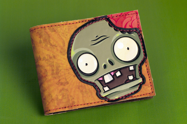 Plants Vs Zombies merchandise - Wallet from Bioworld